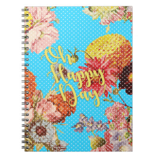 Oh Happy Day! - Blue Notebook