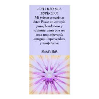 ¡OH HIJO DEL ESPÍRITU! FULL COLOUR RACK CARD