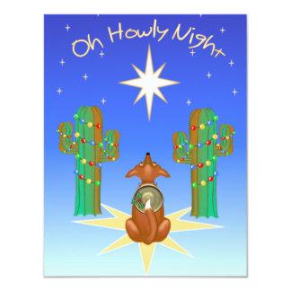 Oh Howly Night 11 Cm X 14 Cm Invitation Card