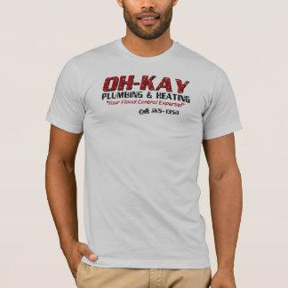 OH-KAY Plumbing & Heating (Distressed) T-Shirt
