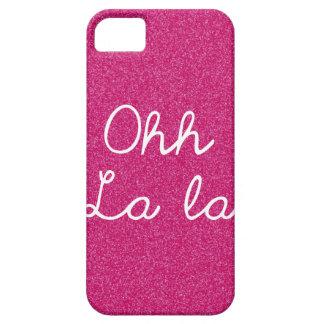 Oh La La - Raspberry Pink iPhone 5 Covers