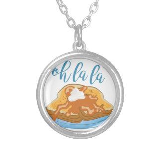 Oh La La Silver Plated Necklace