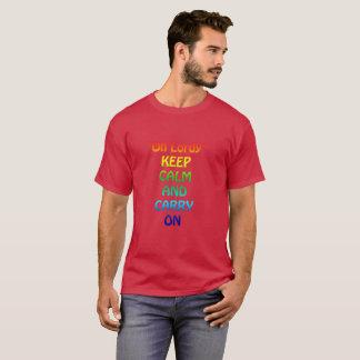 Oh-Lordy Men's Basic Dark T-Shirt