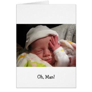 Oh, Man!  Roo Card
