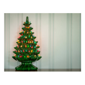 Oh Mid-Century Modern Christmas Tree! Postcard