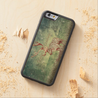 Oh My Deer~ Merry Christmas!   iPhone 6 Wood Case Carved® Maple iPhone 6 Bumper Case