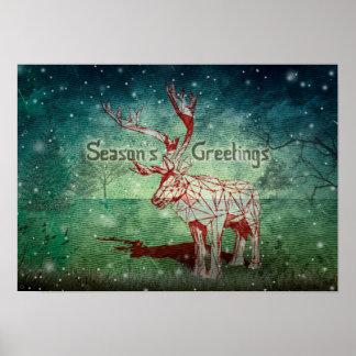Oh My Deer~ Merry Christmas! | Poster