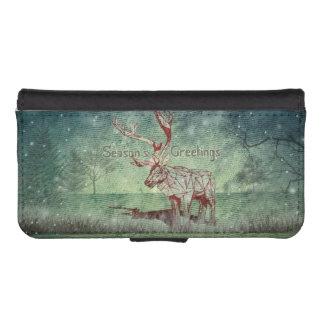 Oh My Deer~ Merry Xmas!   iPhone 5/5s Wallet Case iPhone 5 Wallet Cases