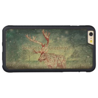 Oh My Deer~ Merry Xmas! |iPhone 6 Plus Wood Cases Carved® Maple iPhone 6 Plus Bumper