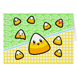 Oh My Goodness! Kawaii Candy Corn! Card