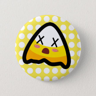Oh, My Goodness! Ouchie Candy Corn! Button