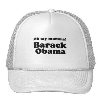 OH MY MAMA BARACK OBAMA - png Mesh Hats