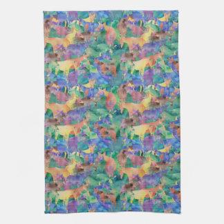 Oh, My Okapi! Tea Towel