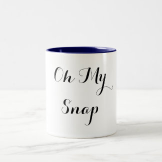 Oh My Snap Two-Tone Coffee Mug