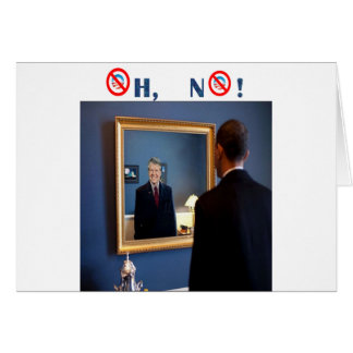 Oh No! Jimmy Carter, but faster! Greeting Cards