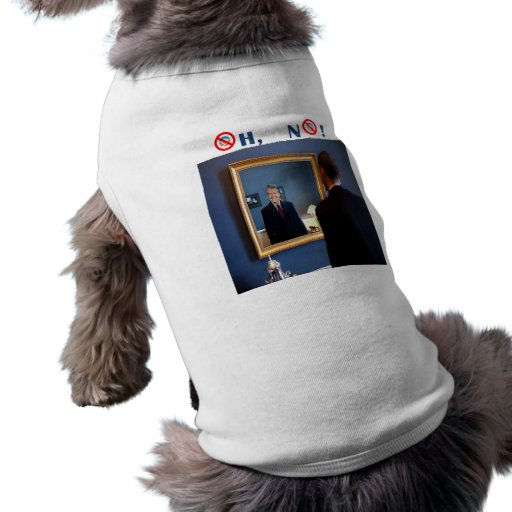 Oh No! Jimmy Carter, but faster! Pet Tshirt