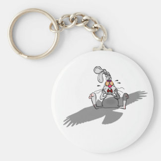 Oh No! Rabbit Cartoon Key Chains