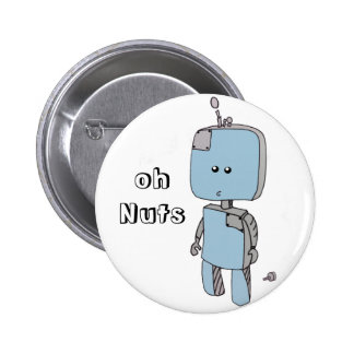 Oh Nuts! Robot Accidents Badge