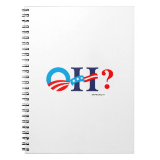 OH - Obama then Hillary Note Books