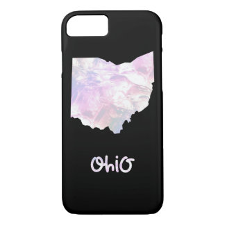 OH Ohio State Iridescent Opalescent Pearly iPhone 8/7 Case