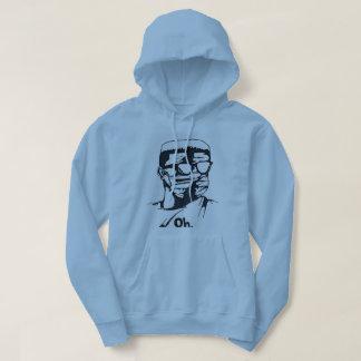 """""""Oh."""" OMVRI Men's Blue String Hoodie"""