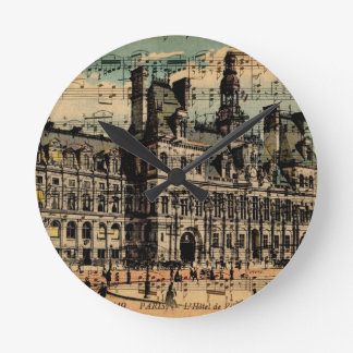 Oh Paris Wall Clocks