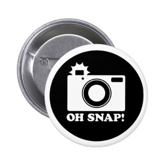 Oh Snap!! 6 Cm Round Badge