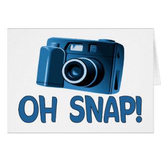 Oh Snap Camera Card