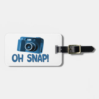 Oh Snap Camera Luggage Tag