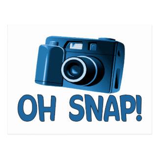 Oh Snap Camera Postcard