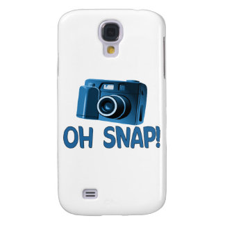Oh Snap Camera Samsung Galaxy S4 Cases