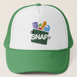 OH SNAP EBT BENEFITS FOOD STAMPS HOOD FUNNY TRUCKER HAT
