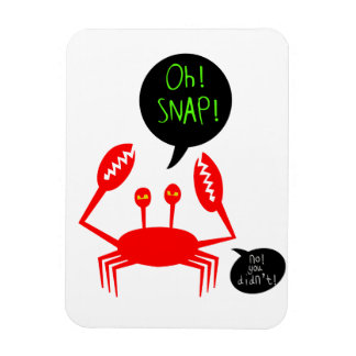 """Oh! Snap!"" flexible device magnet"