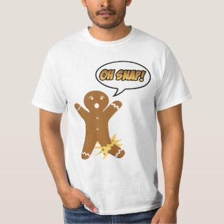 Oh Snap Funny Holiday Christmas or Thanksgiving Shirt