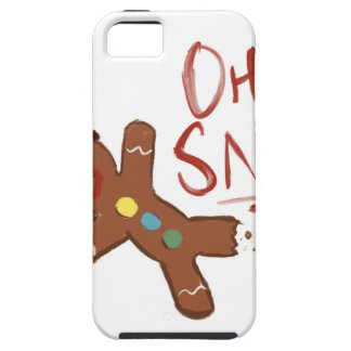 Oh Snap Gingerbread Man iPhone 5 Covers