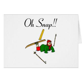 Oh Snap!  (Ice Break) Card