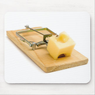 Oh, snap! Mousetrap Mouse Pad