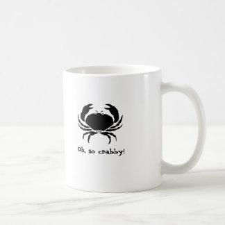 Oh, so crabby! basic white mug