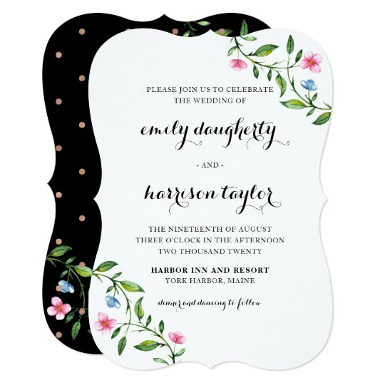Oh So Lovely Wedding Invitation