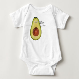 Oh Stop It You - Meme Avocado Baby Bodysuit