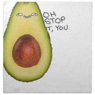 Oh Stop It You - Meme Avocado Napkin
