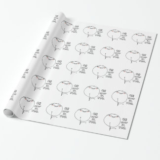Oh stop it you. - meme wrapping paper
