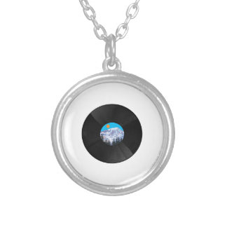 OH SWEET SOUNDS SILVER PLATED NECKLACE