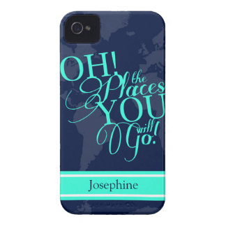 Oh! The places you will go! iPhone 4 Case-Mate Cases