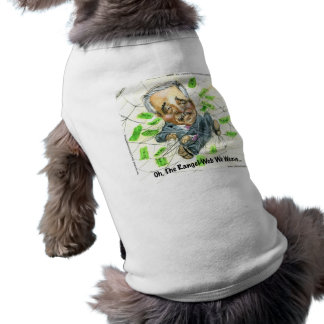 Oh The Rangel Web Funny Gifts Tees Cards Etc Sleeveless Dog Shirt
