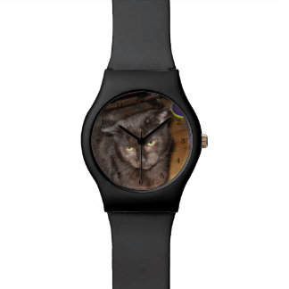Oh, Those Bedroom Eyes, Black Cat Wristwatches