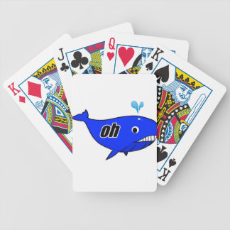 Oh Wale Oh Well Bicycle Playing Cards