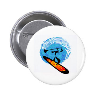 OH WATER DREAMS 6 CM ROUND BADGE