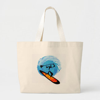 OH WATER DREAMS LARGE TOTE BAG
