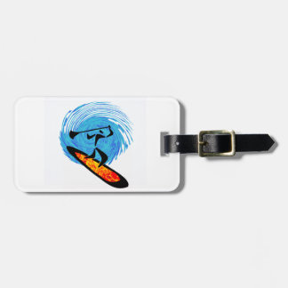 OH WATER DREAMS LUGGAGE TAG